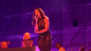 Rihanna work - live at wembley london anti world tour