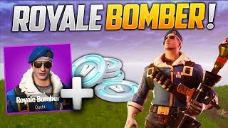 "HOW TO HAVE THE SKIN ""ROYALE BOMBER"" ON FORTNITE BATTLE ROYALE!"