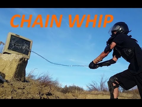 CHAIN WHIP ~ Power Strikes Practice ~ Backhand, Behind Back, Overhand Pull