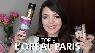 Melhores produtos L'Oréal Paris - Top 5 | Lia Camargo