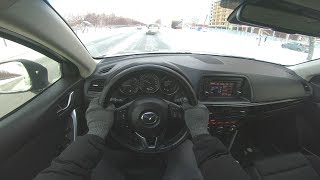 2012 Mazda Cx-5 2.0l (150hp) Skyactiv Technology Pov Test Drive