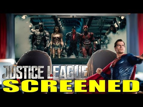 Justice League SCREENED!