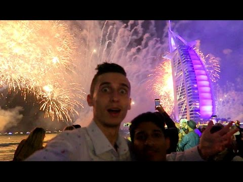 DUBAI BEST NEW YEAR CELEBRATION IN MY LIFE !!!
