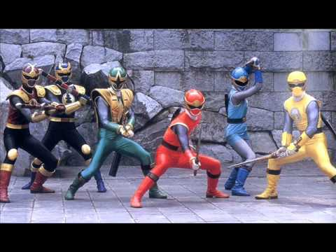 Power Rangers Ninja Storm Full Instrumental Theme Song