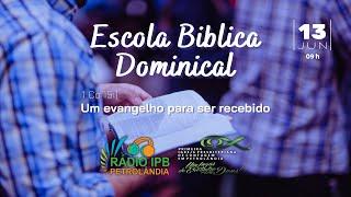 Um Evangelho para ser Recebido   1CO 15:1   Rev. Daniel Arantes