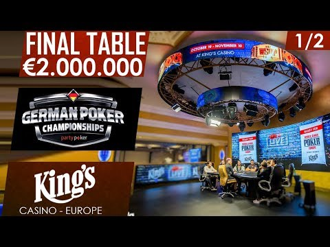 Final day 1/2 | partypoker German Championship | King's Casino 2017