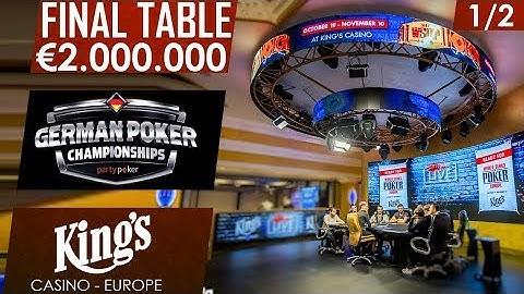Final day 1/2 | partypoker German Championship | King's Casino 2017