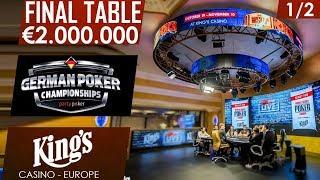 Final day 1/2   partypoker German Championship   King's Casino 2017