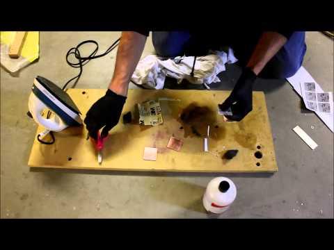 diy circuit board ecthing