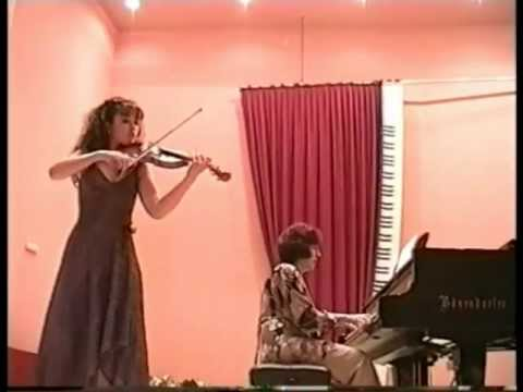 Маrinа Dimitrova - violin - P.Vladigerov