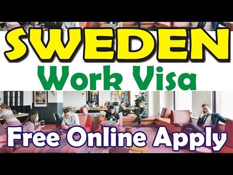 Sweden Work Visa 2020 Chance for Sweden Work Visa    World Say Online Visa