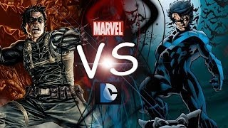 Winter Soldier vs Nightwing - Comic Clash S5E2