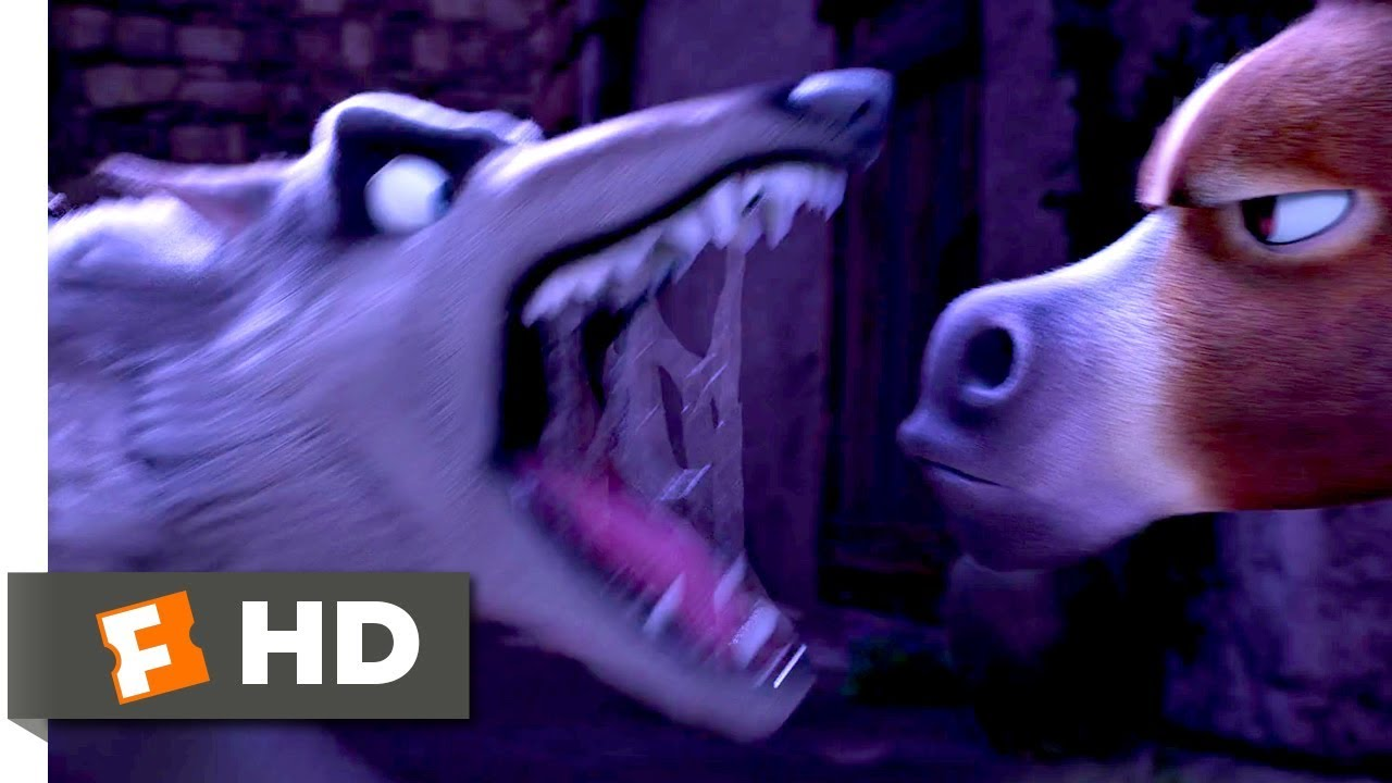 The Star (2017) - When Animals Attack Scene (9/10) | Movieclips