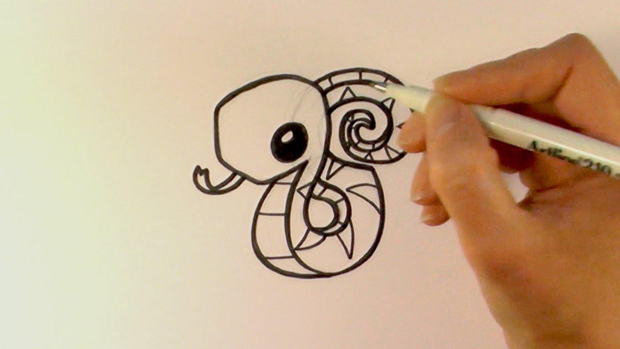 How to Draw a Cartoon Snake From Animal Jam - zooshii ...