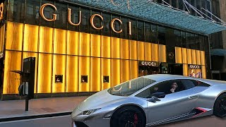 TAKING MY GUCCI LAMBORGHINI TO THE GUCCI STORE!! | Vlogs | FaZe Rug