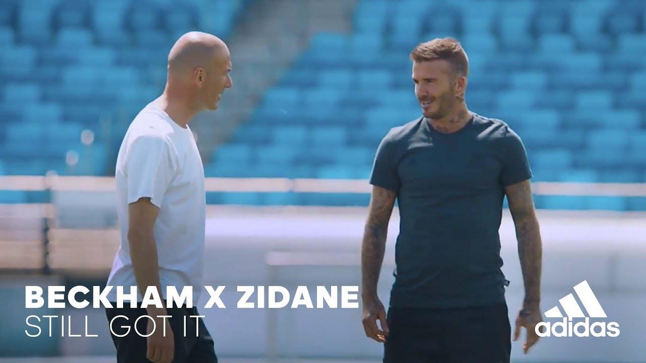 Adidas: Worum sich die WM Legenden Beckham und Zidane beneiden