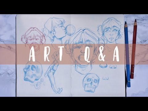studying art, motivation + improving your drawing // Q&A