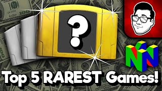 Top 5 RAREST Nintendo 64 Games! [USA] | Nintendrew