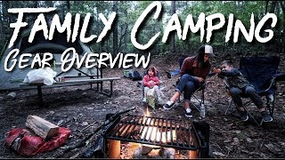 Family Camping - Our Gear Overview