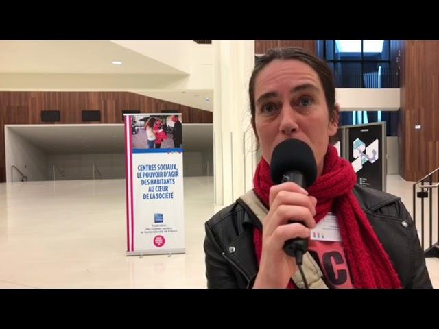 Interview d'Emmanuelle Jouffrit, directrice de centre socioculturel, JPAG 2018