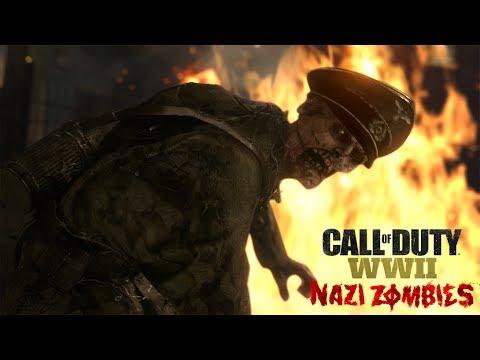 Offizieller Enthüllungstrailer Zu Call Of Duty Wwii Nazi Zombies