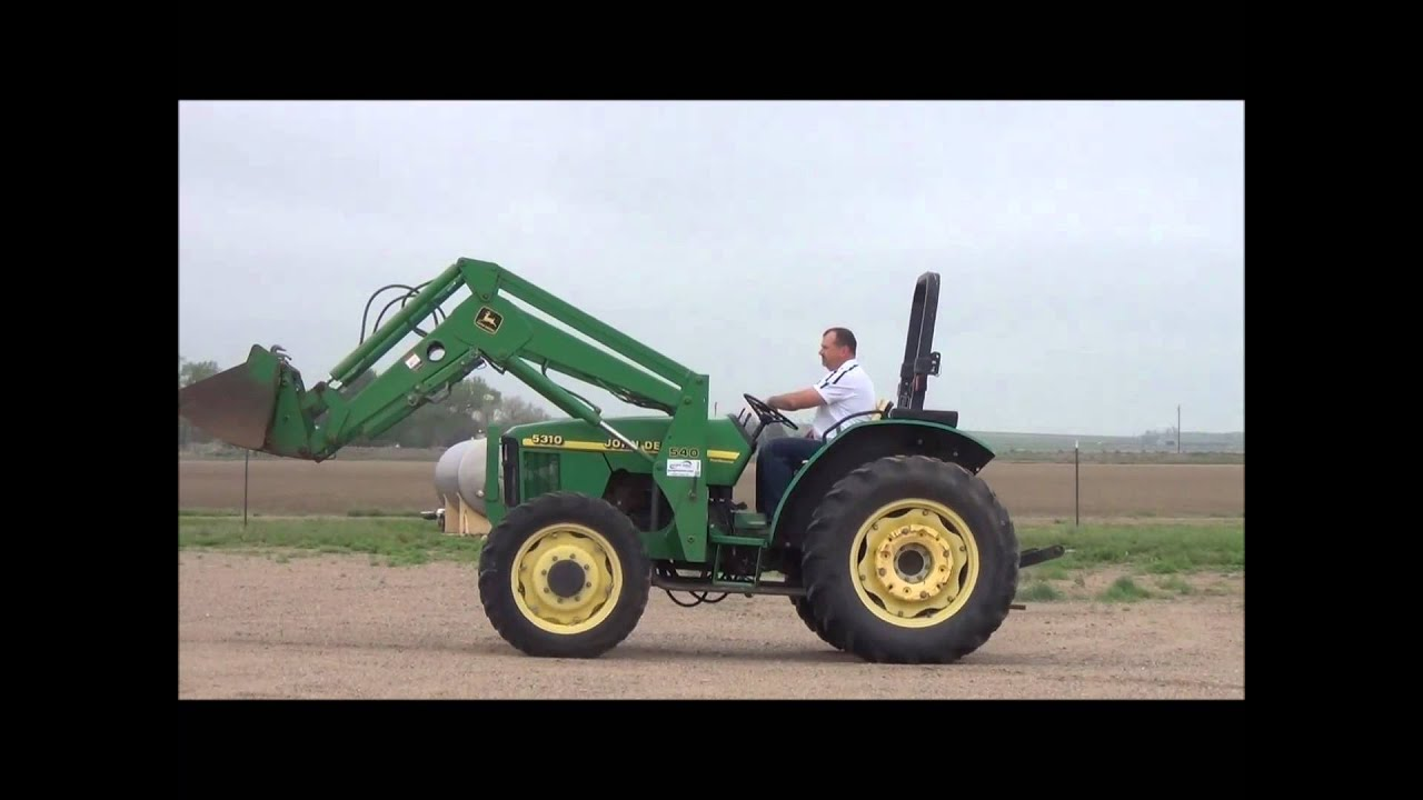 John Deere 5310 Loader Wiring Diagrams Diagram 1999 Mfwd Tractor For Sale Sold At Auction June 26 Rh Youtube Com