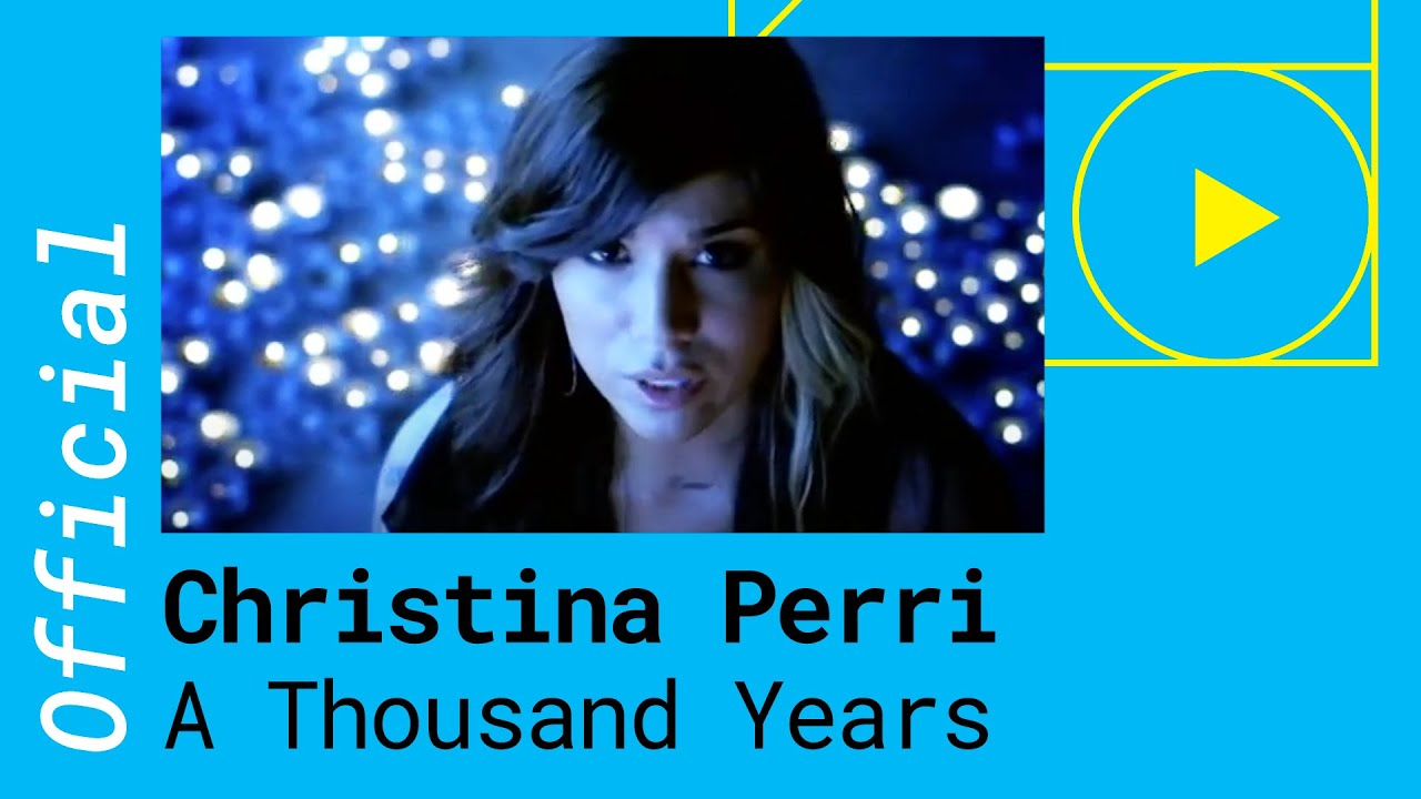 Christina perri a thousand years official music video youtube