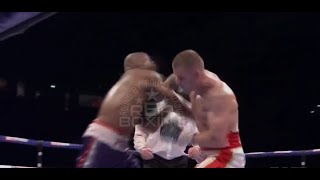 CALLUM JOHNSON SENSATIONALLY KNOCKS OUT WILLBEFORCE SHIHEPO IN 9 TO WIN COMMONWEALTH CROWN