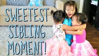 THE SWEETEST SIBLING MOMENT! - August 19, 2016 -  ItsJudysLife Vlogs
