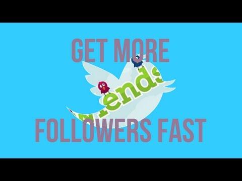 50 twitter followers in 1 minute | tutorial