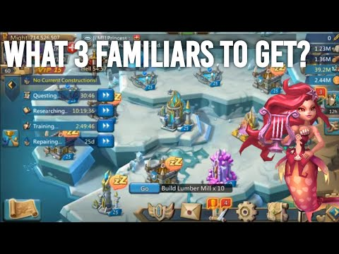 The 3 Familiars YOU SHOULD GET MAXED For Attacking - Lords Mobile