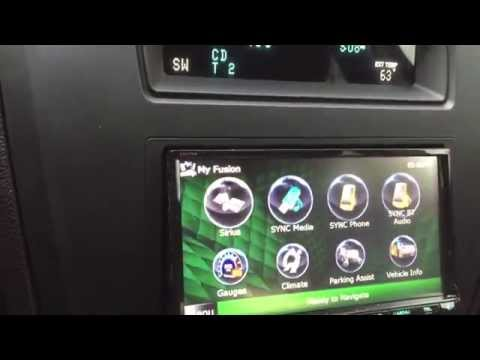Kenwood DNX-891HD And Idatalink Maestro In A Ford Fusion