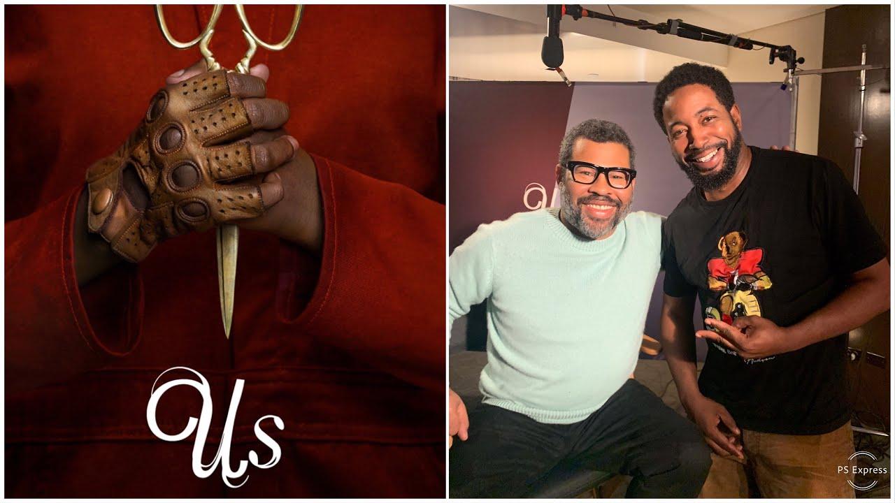 Jordan Peele talks US movie and Easter Eggs—Exclusive
