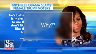 Michelle Obama Accuses Women Who Vote For Trump, Yet Compelling Evidence Makes A Great Argument