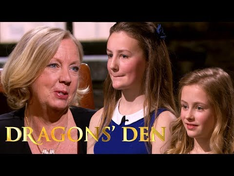 The Future of Britain Is Bright With These Two Sisters | Dragon's Den