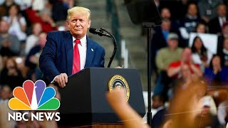 Democrats Feel Urgency To Choose Candidate As President Trump Goes On 'Retribution Tour' | NBC News