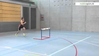 Leichtathletik - Tests: 5.1 Hürdenlaufen - Niveau 5 (U14/U16)