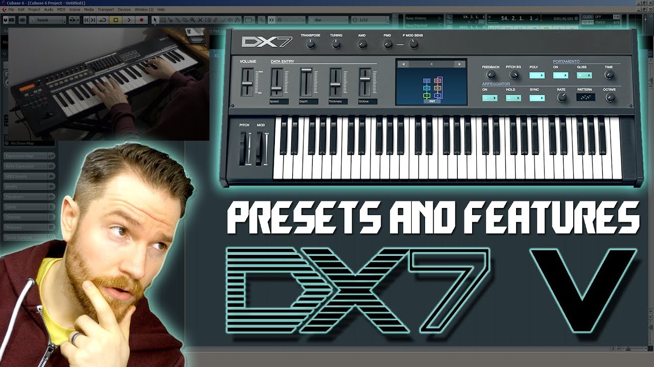 Noodling Around with Arturia's DX7 V - Presets and Features Breakdown
