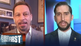 Chris Broussard believes Clippers will win tonight but fall to Lakers | NBA | FIRST THINGS FIRST