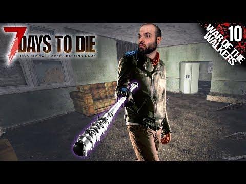 7 DAYS TO DIE M10 | BATE DE TUNGSTENO :O :O :O | Gameplay Español