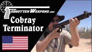 Cobray Terminator at the Range: The Worst Shotgun Ever