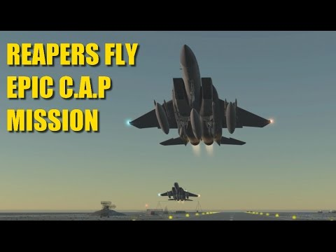*EPIC* Patrol Mission, 11 Kills, Formation Flying & Dogfights   F-15   DCS