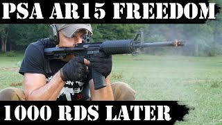 Palmetto State Armory AR15 Freedom: 1000rds later