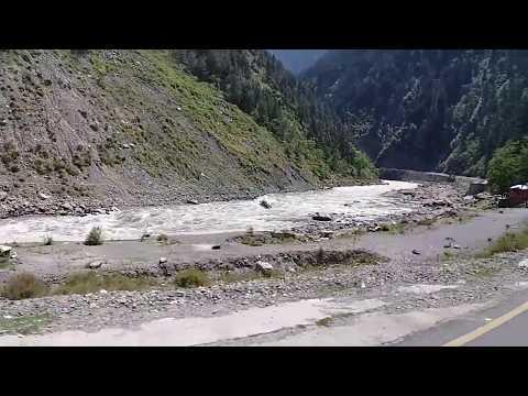 Beautiful River Kunhar - On the way to Abbotabad City, Pakistan