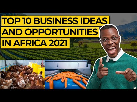 Top 10 Best Business Opportunities And Ideas In Africa 2021