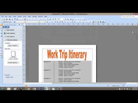 How to Convert Microsoft Publisher Files to High Resolution. : Microsoft Graphic Design Programs