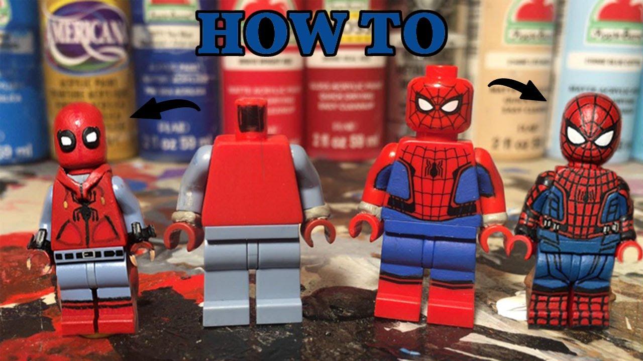 Ultimate Spider-Man Custom Mini Figures Shocker