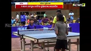25th Table Tennis Tournament Concluded in Cuttack