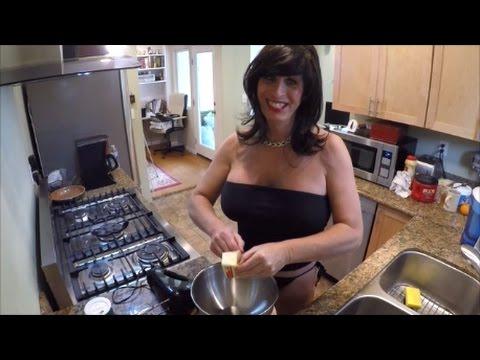 Sexy Rosie Girl Baking Again!...Butter Pecan Shortbread Cookies!