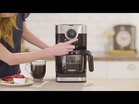 Black+Decker Select-A-Size Easy Dial Coffeemaker